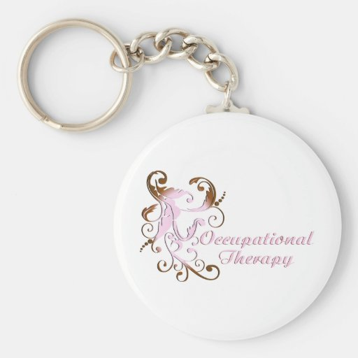 scrollart leaves 2 pink-brown no box2 key chains