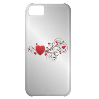 Scrolled Heart iPhone 5C Case