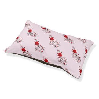 Scrolled Hearts kash003 Pet Bed