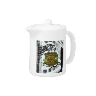 Scrooge&MarleySignScene teapot