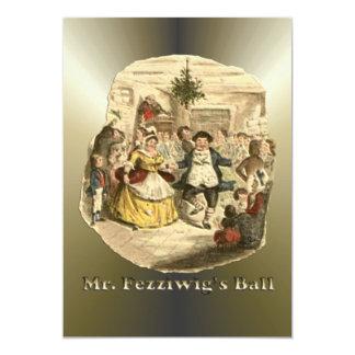 Scrooge of Christmas - A Christmas Carol 13 Cm X 18 Cm Invitation Card
