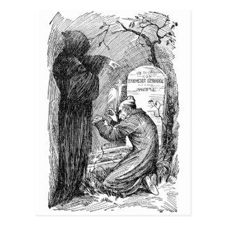 Scrooge's Grave Postcard