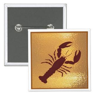 Scropio Bite Danger Wild - Medal Icon Gold Base Buttons