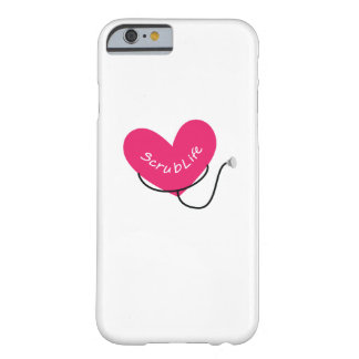Scrub Life Nurse RN  Funny Nurse  Nursing Barely There iPhone 6 Case