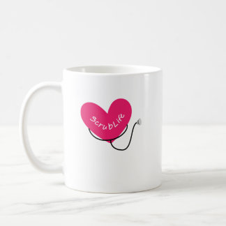 Scrub Life Nurse RN  Funny Nurse  Nursing Coffee Mug