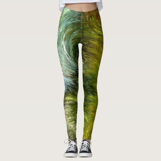 Scrub vegetation by rafi talby leggings