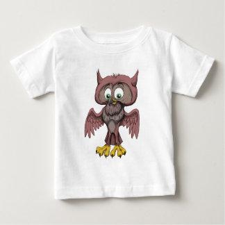 Scruffy Owl Baby T-Shirt