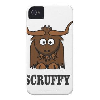 scruffy yak Case-Mate iPhone 4 case