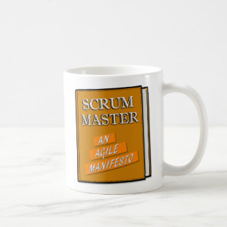 Scrum Master Agile Manifesto Coffee Mug