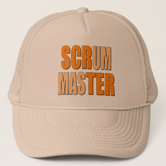 Scrum Master Bold and Large Trucker Hat