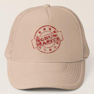 Scrum Master Stamp Trucker Hat