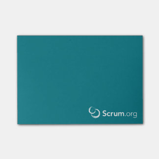 Scrum.org Sticky Notes