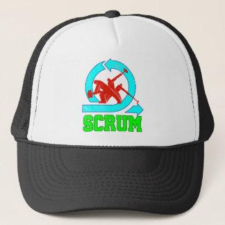 Scrum Workers - Vintage Style Trucker Hat