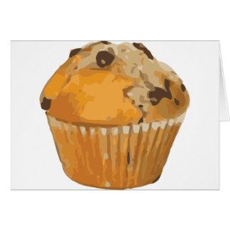 Scrumptious Blueberry Muffin Delicious Dessert Card