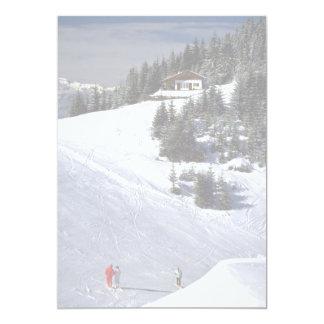 Scu, Austria 13 Cm X 18 Cm Invitation Card