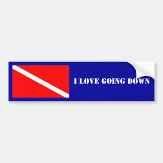 Scuba Bumper Sticker
