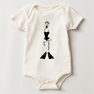 Scuba Diva Baby Bodysuit