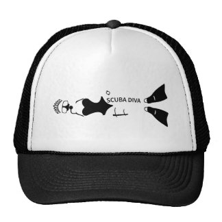 Scuba Diva Mesh Hats