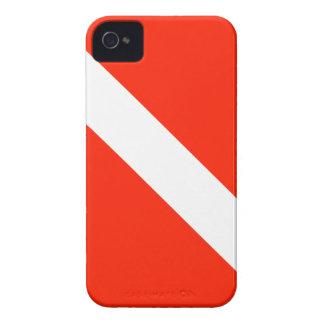 Scuba Dive Flag iPhone 4 Case