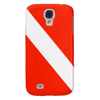 Scuba Dive Flag Galaxy S4 Cases