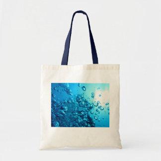 Scuba dive, underwater, bubble bag