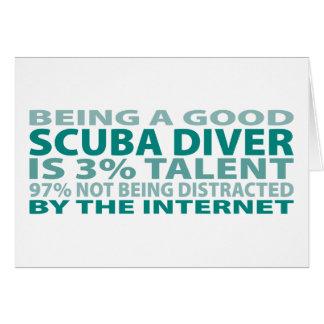 Scuba Diver 3% Talent Card