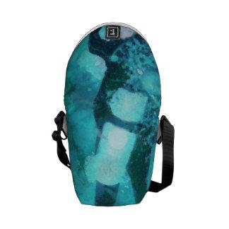 Scuba diver and bubbles commuter bag