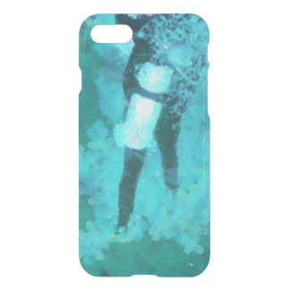 Scuba diver and bubbles iPhone 8/7 case