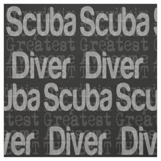 Scuba Diver Extraordinaire Fabric