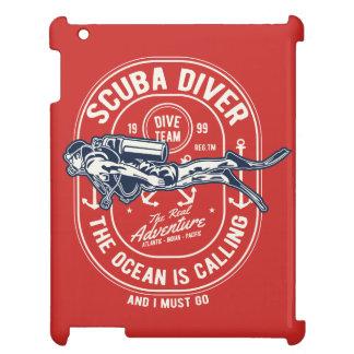 Scuba Diver IPAD/IPAD MINI, IPAD AIR CASE iPad Case