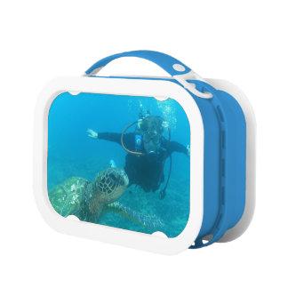 Scuba Diver Lunch Box