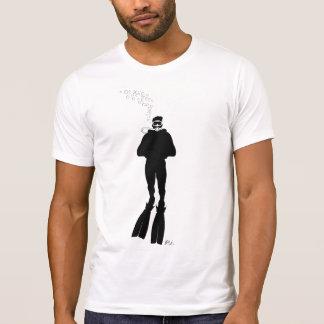 Scuba Diver Silhouette (Man) T-Shirt