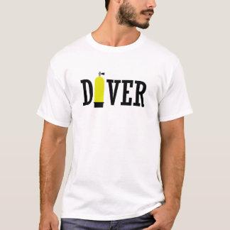 Scuba Diver tank t-shirt