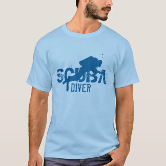 Scuba diver tee shirt