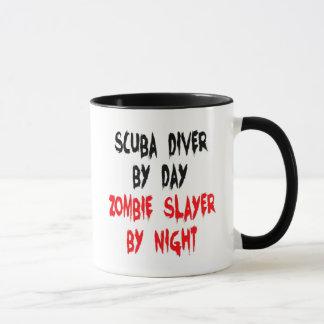 Scuba Diver Zombie Joke Mug