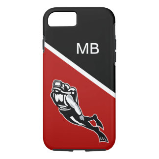 Scuba Divers Monogram Case