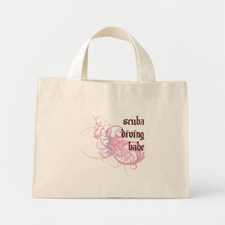 Scuba Diving Babe Tote Bags