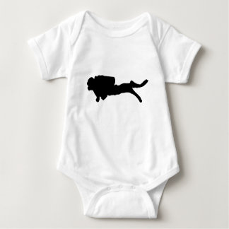 scuba diving baby bodysuit