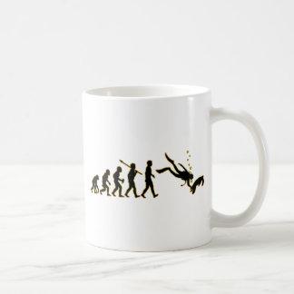 Scuba Diving Basic White Mug