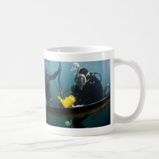 Scuba Diving Basic White Mug
