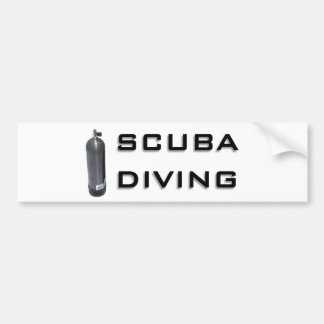 Scuba  Diving design! Bumper Sticker