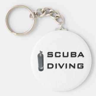 Scuba  Diving design! Key Ring