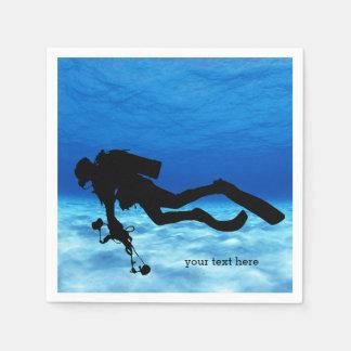 Scuba Diving Disposable Napkin