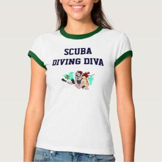 SCUBA DIVING DIVA SHIRT