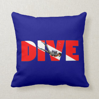 Scuba Diving DIVE Cushion