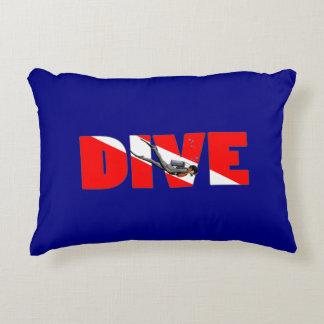 Scuba Diving DIVE Decorative Cushion