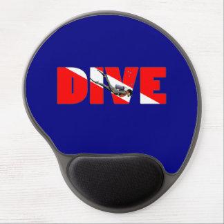 Scuba Diving DIVE Gel Mouse Pad