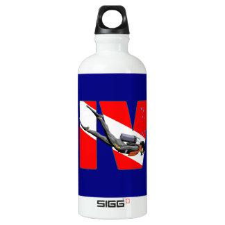 Scuba Diving DIVE Water Bottle