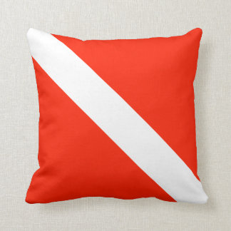 Scuba Diving Flag Cushion