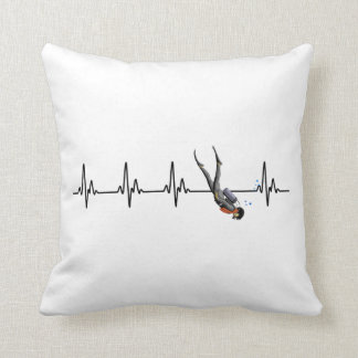 SCUBA Diving Heartbeat Cushion